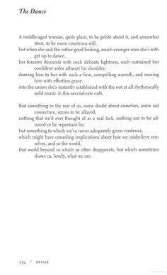 """""""The Dance"""" Collected Poems - C. K. Williams - Google Books"""