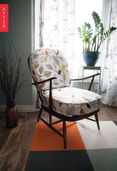 Before & After: 1960s Ercol Windsor Gets a Serious Style Boost