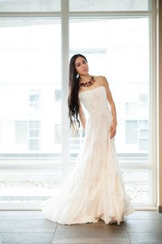 Romántico Vestido de novia largo MERCI por FrenchKnotCouture