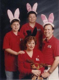 Bunny ear family...ooooookayyyy