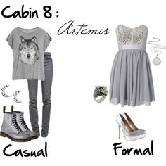 """Cabin 8: Artemis"" by idmiliris on Polyvore"