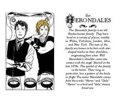 famous shadowhunter families