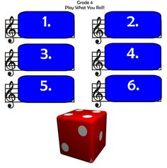 FREE DOWNLOAD - Play and Roll Recorder Game - Also would work for sight singing with Solfege pitches!
