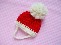 I wanted to make a cute Santa hat for my puppy so here is the pattern I used. I recommend you to measure your dog's head to make sure it fits him/her perfectly.