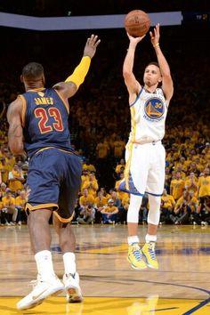 Stephen Curry & LeBron James.
