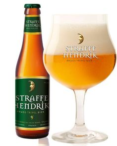 'Straffe Hendrik', one of the many local Belgian beers. A speciality from the city of Bruges. http://www.hotelnavarra.com/en/info/1423/Beer-package.html
