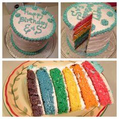 My friend Stephanie made this cake for me and my boyfriends birthday :) Dessert Ideas, Dessert Recipes, Desserts, Birthday Stuff, Birthday Ideas, Cute Presents For Boyfriend, Birthday Cake For Boyfriend, Do It Yourself Design, Boyfriends