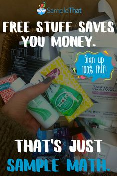 SampleThat – Access free beauty, baby, health, and household samples from the top brands! Open your free member account today! Save Your Money, How To Make Money, Free Beauty Box, Free Sample Boxes, Cigarette Coupons Free Printable, Free Birthday, Get Free Stuff, Snack Box, Money Matters