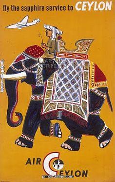 Retro Lanka: POSTERS FROM MID CENTURY SRI LANKA