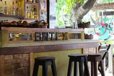 Batey's restaurant in downtown Tulum