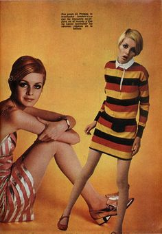 Twiggy - Colleen Corby in Seventeen magazine, Seventies Fashion, 60 Fashion, London Fashion, Fashion Beauty, Vintage Fashion, Twiggy, Colleen Corby, Swinging London, Seventeen Magazine
