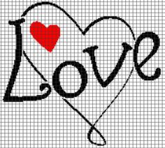 Hey, I found this really awesome Etsy listing at https://www.etsy.com/listing/177365343/love-and-heart-crochet-graphghan-pattern