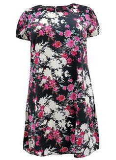 Koko Short Sleeve Floral Dress