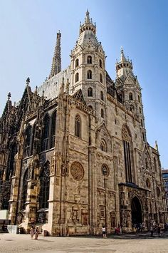 Domkirche St. Stephan. Vienna, Austria