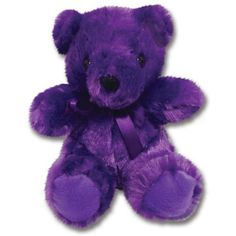 Sending along this Purple Teddy Bear as thanks for the pins♡