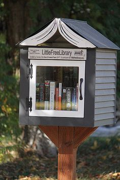 Run a Little Free Library outside your home. The Little Free Library is an…