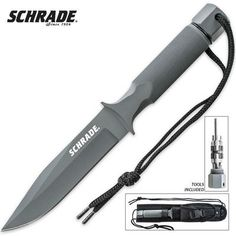 Schrade Extreme Survival Fixed Blade With Bit Set at BudK