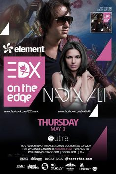 Nadia Ali Concert at Sutra in Costa Mesa.