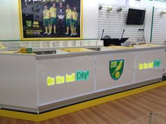 Retail Counter for Norwich City FC