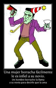 Una mujer borracha fácilmente le es infiel a su novio - http://www.fotosbonitaseincreibles.com/una-mujer-borracha-facilmente-le-es-infiel-a-su-novio/