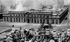 Uncovering Britain's secret role in protecting Chile's 1973 coup. Chile coup 11 September 1973.  when General Augusto Pinochet overthrew Salvador Allende, the elected president of Chile, democrats across the world were horrified but not British INteliggence.