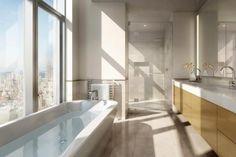 bathroom in Manhattan. Frank Gehry