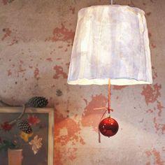 Anleitung: Lampenschirm aus Stoff selber machen