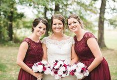 Blush pink and wine wedding flower brides bouquet Budget Bride, Cheap Wedding Flowers, Bridesmaid Dresses, Wedding Dresses, Bride Bouquets, Blush Pink, Wine, Bridal, Fashion