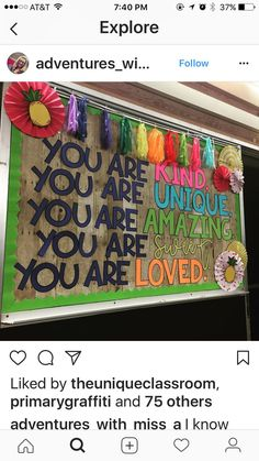 you are kind bulletin board