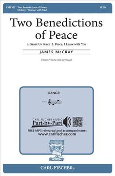 Two Benedictions of Peace (Octavo)
