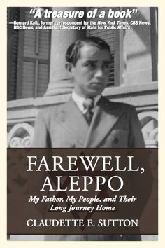 """Almost-finalized cover of my upcoming book, """"Farewell, Aleppo""""! #author #writing #book #bookcover  Coming this spring from Terra Nova Books!"""