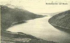 Nordland fylke Narvik kommune Rombaksfjorden brukt 1919 Utg Julius Brekke