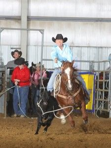 """Everything we do goes back to horsemanship and keeping your horse really broke, and the start is no exception."""