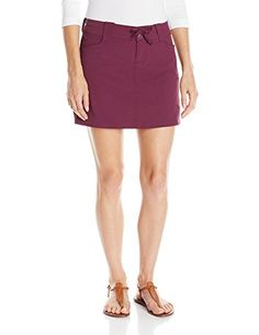 Outdoor Research Womens Ferrosi Skort Pinot Size 8 * You can get additional details at the image link.