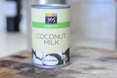 Whole Foods organic coconut milk