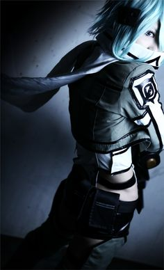 Sinon/Gun Gale Online - HALCA(HAL) Shinon Cosplay Photo