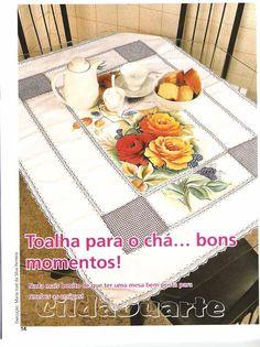 FAÇA JÁ PINTURA EM TECIDO Nº 21 - Carmelita Batista - Álbuns da web do Picasa
