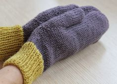 Mis obsesiones de hoy: Manoplas de lana