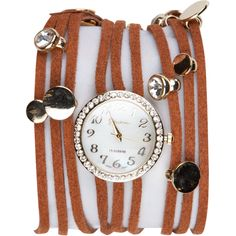 beaded wrap watch