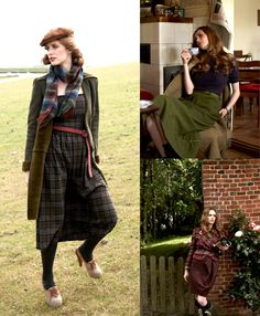 Read the article 'Highland Fling: 15 Patterns in Wool and Plaid' in the BurdaStyle blog 'Daily Thread'.