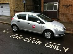 HAB's carshare scheme on our housing project in Swindon has been adopted across the town. That's nice.
