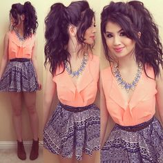 """Love this peach top Get the top"