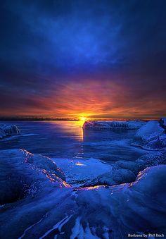 So Far Away   Wisconsin Horizons by Phil Koch.