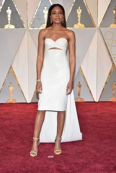 Naomie Harris sur le tapis rouge des Oscars 2017