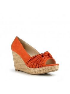 OATLEY Raffia Wedge Pump