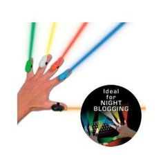 Party Rats Finger Lights