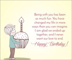 Here We have some of Best Happy Birthday Wishes Quotes Images for Girlfriend. You can also share these Amazing Birthday Wishes Quotes with Your Girlfriend & Make her Feel Special. Happy Birthday Cards Images, Funny Happy Birthday Messages, Romantic Birthday Wishes, Birthday Wishes For Her, Happy Birthday Wishes Quotes, Happy Birthday My Love, Special Birthday Wishes, Birthday Gifts, Birthday Quotes For Girlfriend
