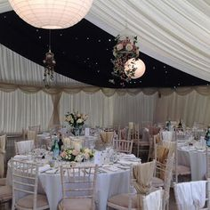 Stunning flowers in our wedding marquee; http://bloomersbotley.co.uk/wedding/wedding.html
