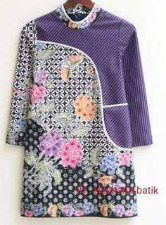 Blouse Batik, Batik Dress, Batik Fashion, Brokat, Beautiful Blouses, Yoko, Coffee Art, Kebaya, Office Outfits