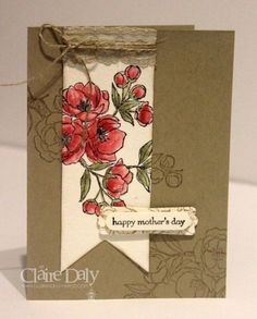 Stampin' Up! Indescribable Gift.  Claire Daly Melbourne Australia for SB104